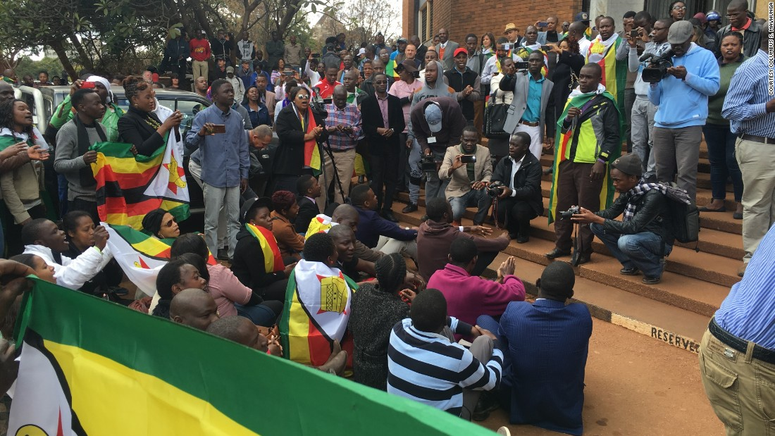 Protest in Zimbabwe, 2016