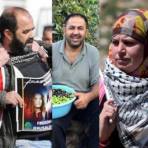 3 Palestinian HRDs - Dec 2017