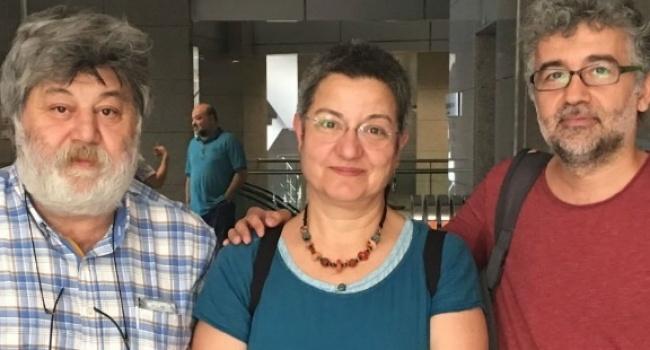 Sebnem Korur Fincanci - Erol Onderoglu - Ahmet Nesin