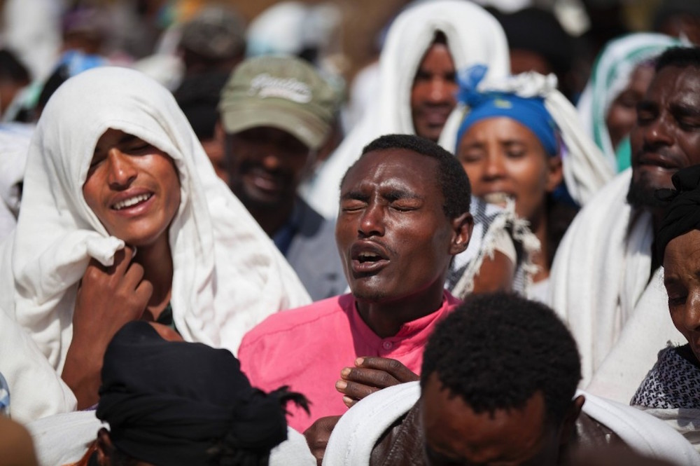 Ethiopia Protester