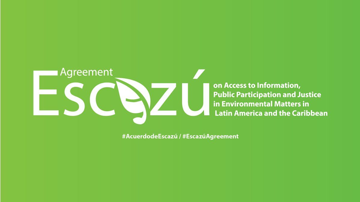 Escazu Agreement