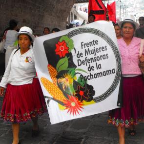 Frente de Mujeres Defensoras de la Pachamama