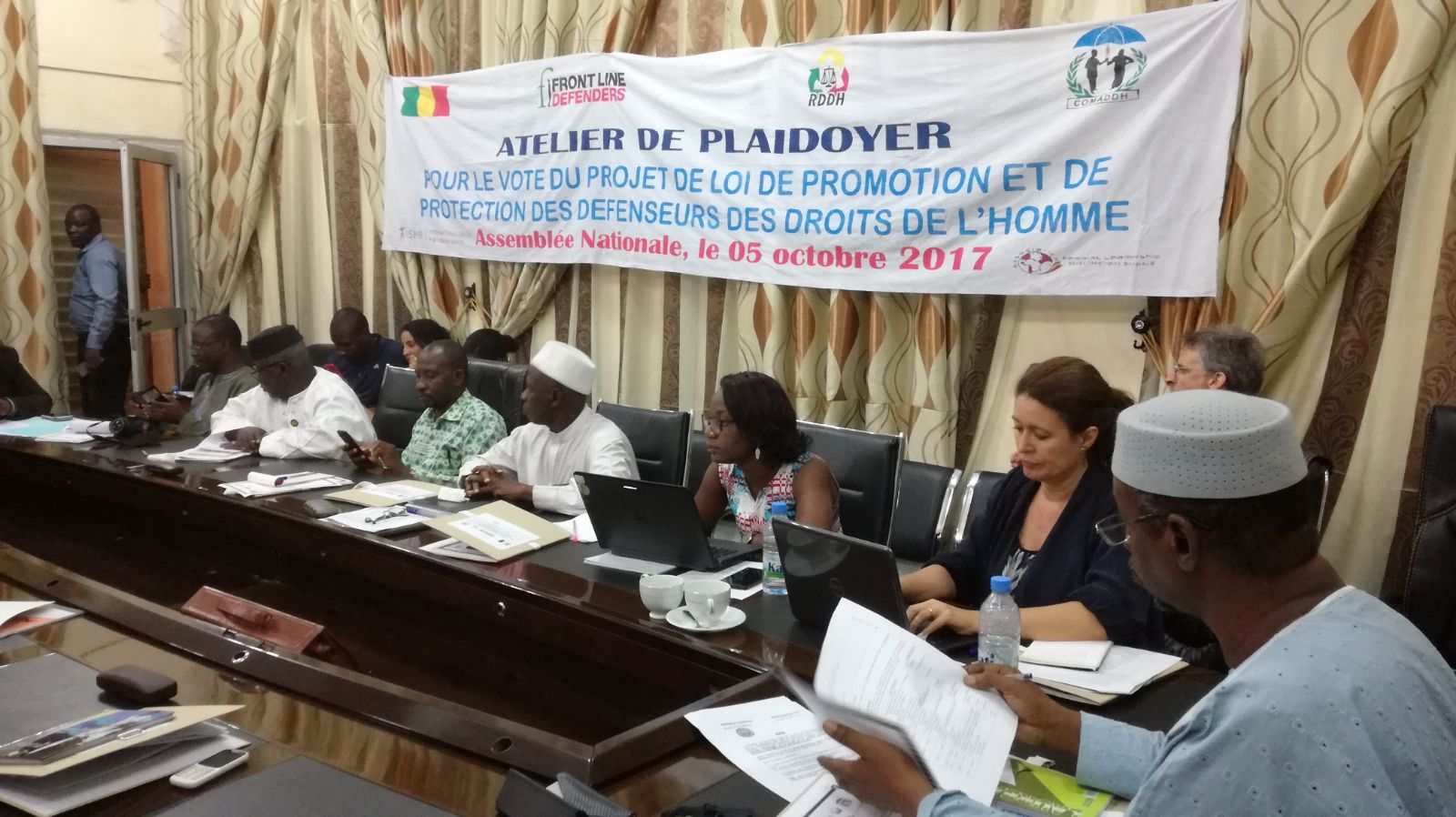 Advocacy meeting at the Malian National Assembly.jpg