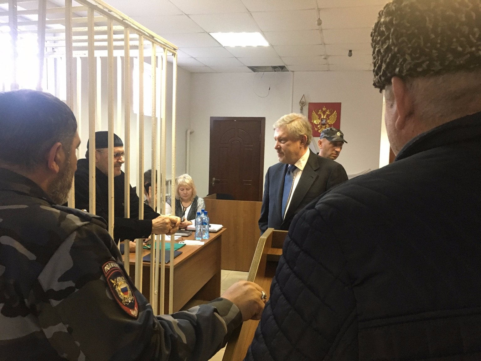 Oyub Titiev in court 2