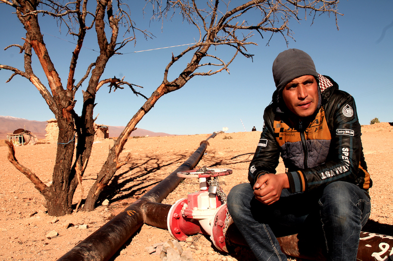 HRD in Imider, Morocco. Credit: Lorena Cotza