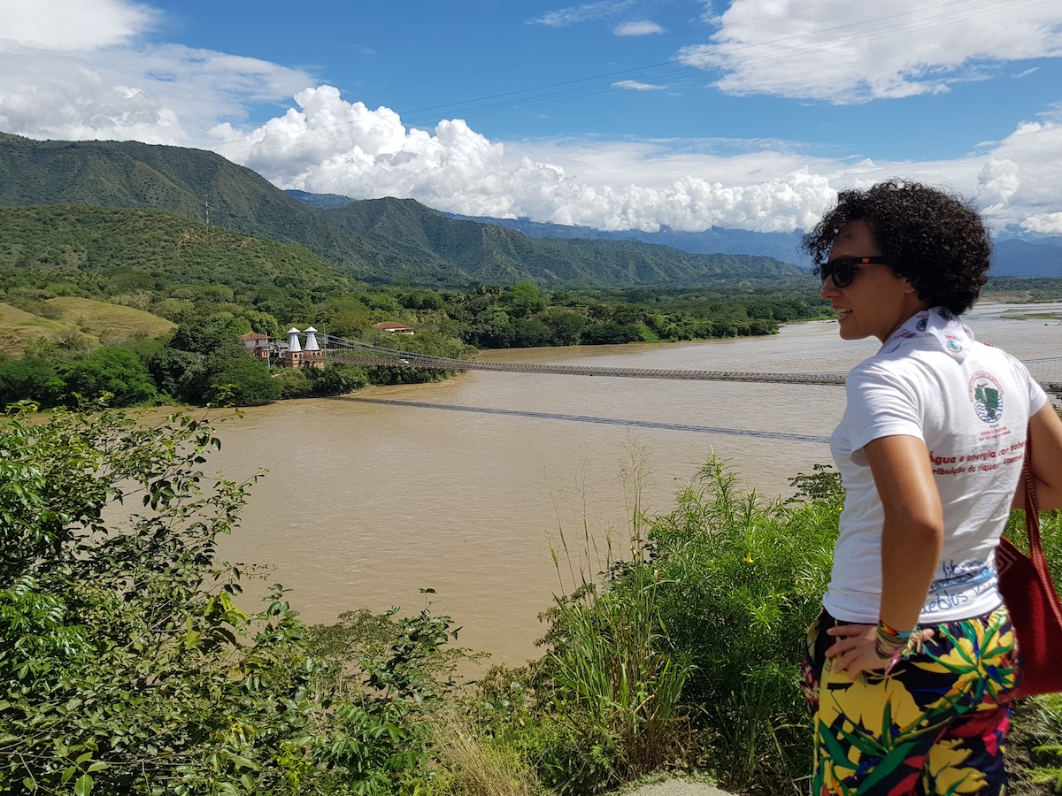 Isabel Zuleta at Rio Cauca