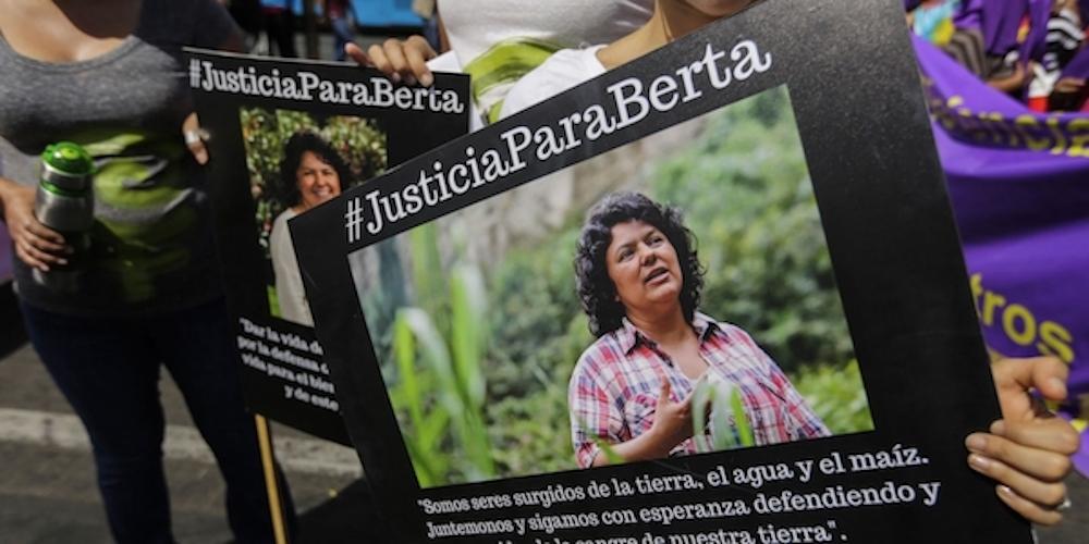 Berta Caceres - protest