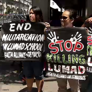 Lito Abion - Stop killings in the Philippines. Credit: Humanrightsinasean