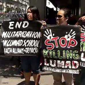 Lito Abion - Stop killings in the Philippines. Credit: Humanrightsinasean