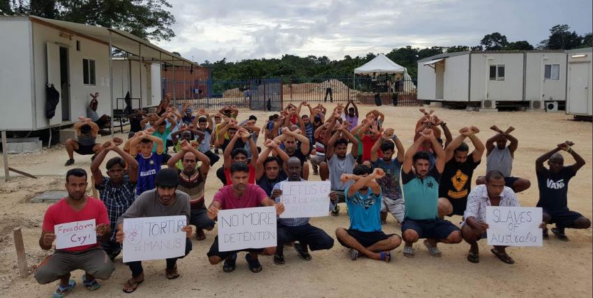 Manus Island detention centre. Photo: Abdul Aziz