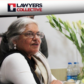 Indira Jaising - Lawyers Collective