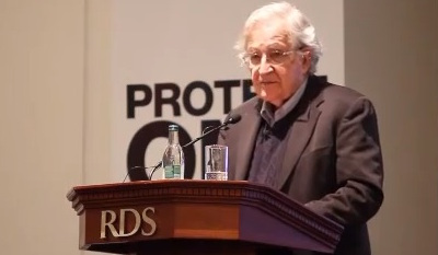 Noam Chomsky Delivering 2013 Annual Lecture
