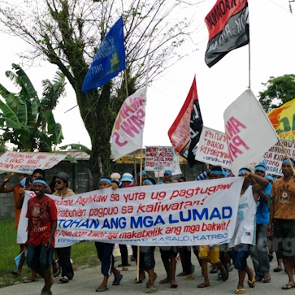 Philippines Environmental HRDs - Protest in Lumad