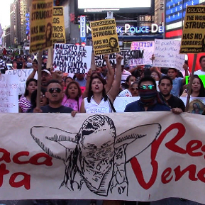 Protest in Oaxaca, June 2016