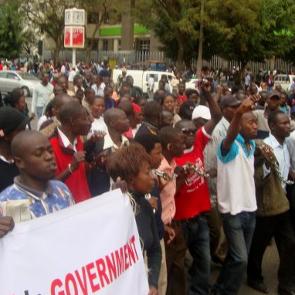 Anti-corruption protest in Kenya, 2011