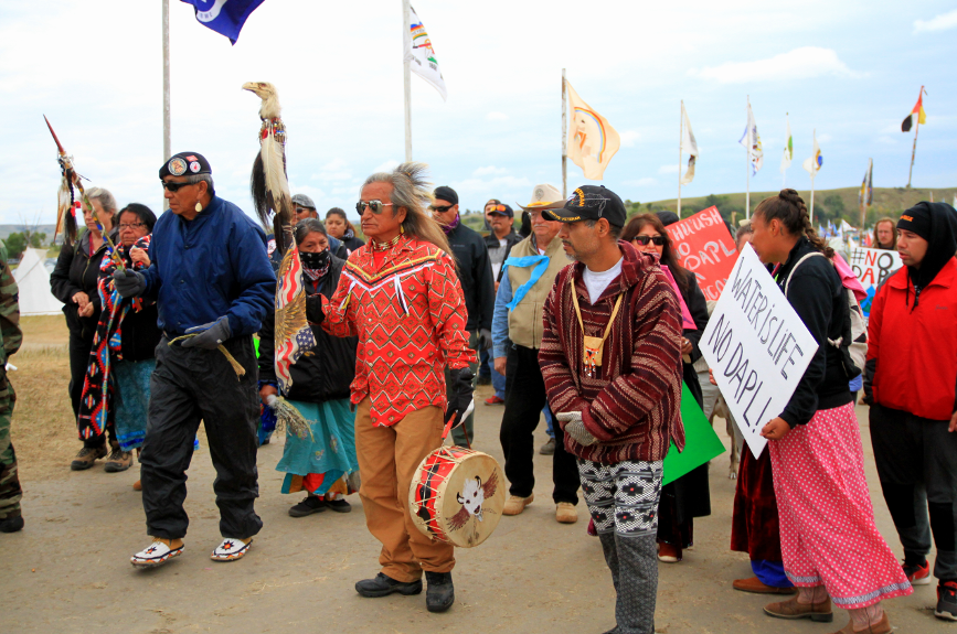 North Dakota protest. Credit: Front Line Defenders
