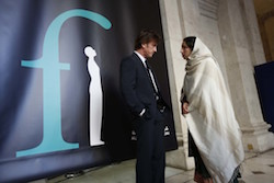 Sean Penn and Noorzia Afridi