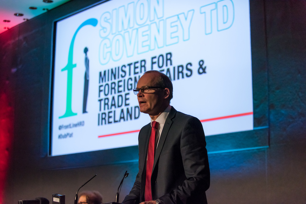 Simon Coveney at Dublin Platform