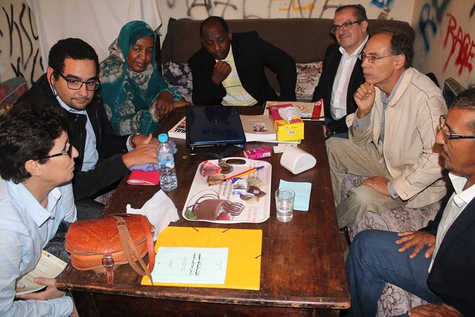 Meeting with Moroccan HRDs