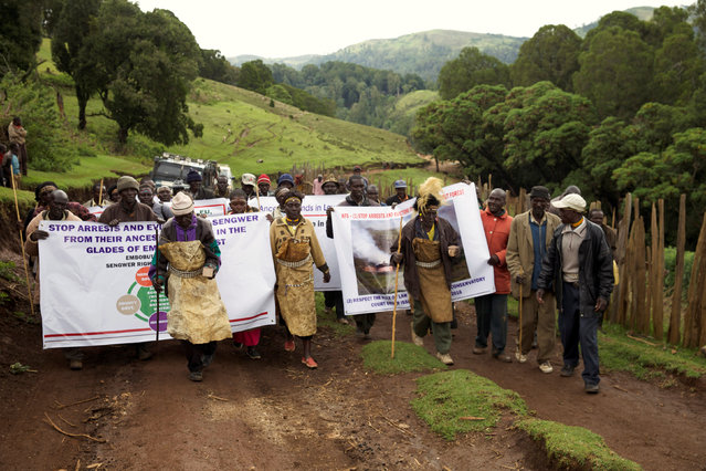 Demonstration in Kenya